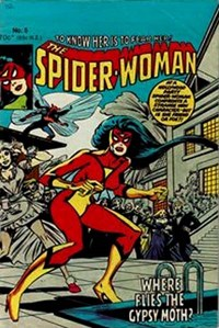 The Spider-Woman (Yaffa/Page, 1978 series) #5 — Where Flies the Gypsy Moth?