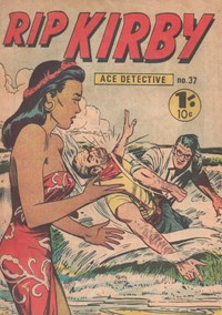 Rip Kirby Ace Detective (Yaffa/Page, 1964? series) #37 — Untitled
