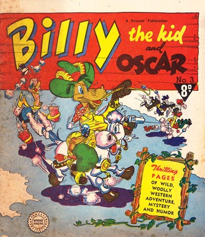 Billy the Kid and Oscar (Cleland, 1953? series) #3 ([1953?])