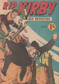 Rip Kirby Ace Detective (Yaffa/Page, 1964? series) #33 — Untitled