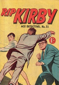 Rip Kirby Ace Detective (Photo-Type, 1964 series) #31 (June 1964)