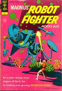 Magnus, Robot Fighter (Western, 1963 series) #31 — Untitled