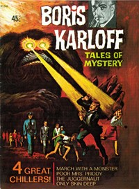 Boris Karloff Tales of Mystery (Rosnock, 1982) #R1246 — 4 Great Chillers!