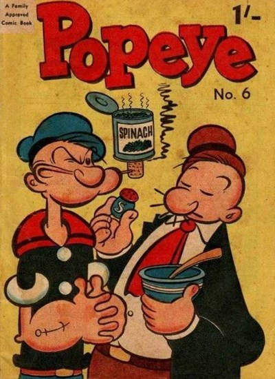 Popeye (Associated Newspapers, 1958 series) #6 (November 1958)