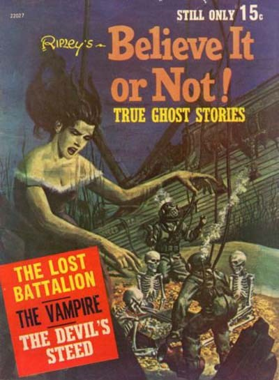 Ripley's Believe It or Not! True Ghost Stories (Rosnock, 1972) #22027 ([1972])