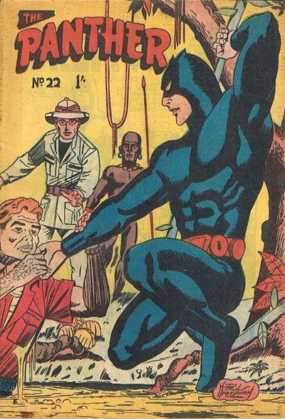 The Panther (Youngs, 1957 series) #22 ([February 1959?])