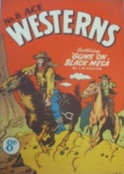 Ace Westerns (Young's, 1950? series) #8 ([1956?]) —Guns on Black Mesa