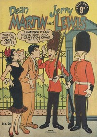 The Adventures of Dean Martin and Jerry Lewis (Frew, 1956 series) #20 (August 1957)