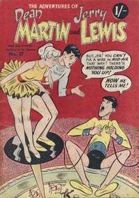 The Adventures of Dean Martin and Jerry Lewis (Tricho, 1959? series) #37 (January 1959)