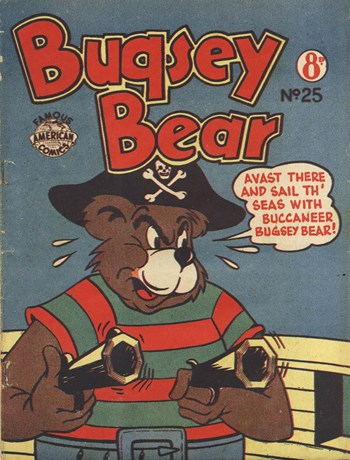 Bugsey Bear (New Century, 1953? series) #25 ([January 1955?])