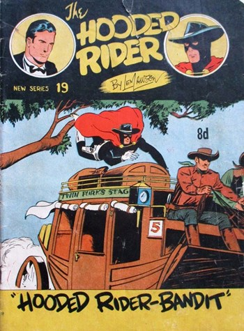 The Hooded Rider (Action Comics, 1952 series) #19 ([July 1953?])
