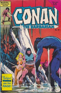 Conan the Barbarian (Federal, 1984 series) #10
