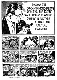 Rip Kirby Ace Detective (Yaffa/Page, 1964? series) #33 — Untitled (page 1)