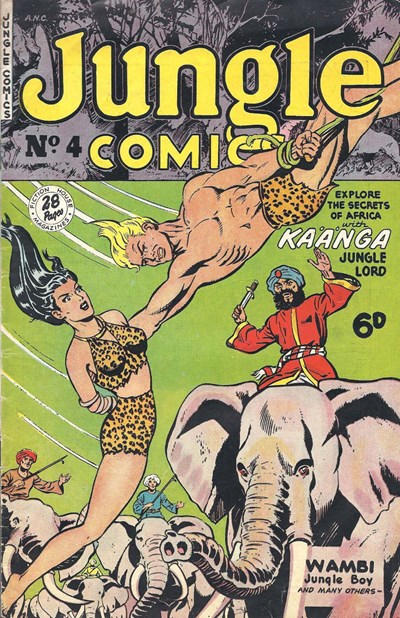 Jungle Comics (HJ Edwards, 1950? series) #4 ([January 1951?])