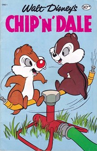 Page 1—Walt Disney's Chip 'n' Dale (Magman, 1984? series) #CND 1  ([1984?])