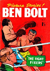 Ben Bolt (Barmor, 1960? series) #5 — The Fight Fixers