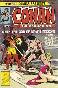 Conan the Barbarian (Federal, 1984 series) #3