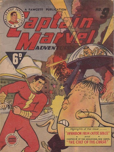 Captain Marvel Adventures (Vee, 1946? series) #9 ([1947?])