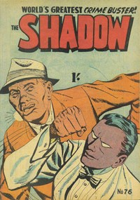The Shadow (Frew, 1954 series) #76 — No title recorded (Cover)
