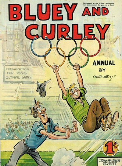 Bluey and Curley Annual (Herald, 1946? series) #1955 (1955)