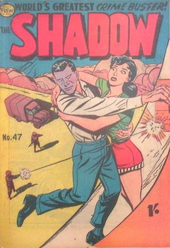 The Shadow (Frew, 1954 series) #47  ([July 1958?])