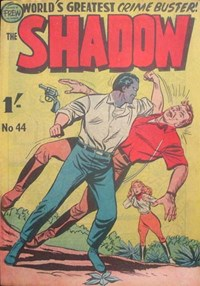 The Shadow (Frew, 1954 series) #44 — No title recorded (Cover)