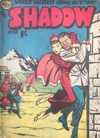 The Shadow (Frew, 1954 series) #35  ([July 1957?])