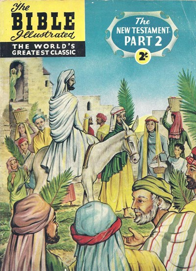The Bible Illustrated The New Testament (Thorpe & Porter, 1960? series) #2 ([196-?])