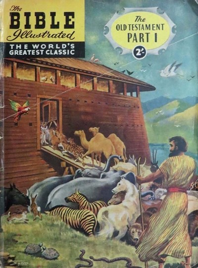 The Bible Illustrated The Old Testament (Thorpe & Porter, 1960? series) #1 ([1960?])