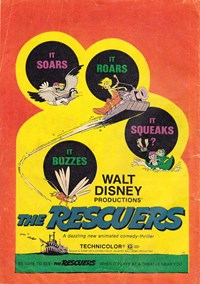 Walt Disney's Film Preview [FP Series] (Wogan, 1974 series) #F.P.89 — The Rescuers (page 1)