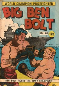 Big Ben Bolt (Yaffa/Page, 1965 series) #40 — Ben Bolt Fights the Navy Champion!!
