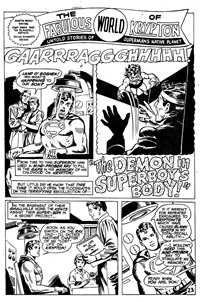 Superman Supacomic (KG Murray, 1974 series) #193 — The Demon in Superboy's Body! (page 1)