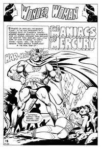 Superman Presents World's Finest Comic Monthly (KG Murray, 1974 series) #114 — The Maniacs of Mercury (page 1)