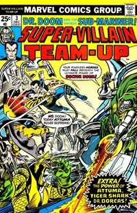 Super-Villain Team-Up (Marvel, 1975 series) #3 — Untitled (Cover)