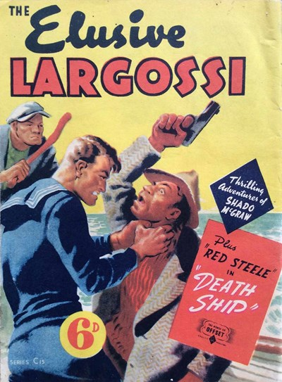 The Elusive Largossi (OPC, 1945?) #C15 ([August 1945?])