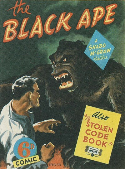The Black Ape (OPC, 1946?) #C23 ([1946?])