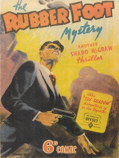 The Rubber Foot Mystery (OPC, 1946?) #C25 ([June 1946?])