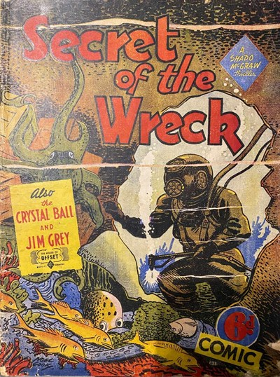 Secret of the Wreck (OPC, 1946?) #C28 ([September 1946?])
