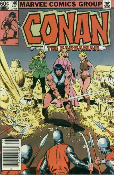 Conan the Barbarian (Marvel, 1970 series) #146 (May 1983)