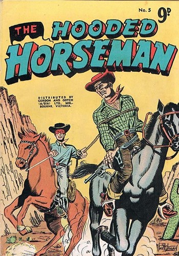 The Hooded Horseman (Action Comics, 195-? series) #5 ([1955?])