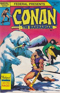 Conan the Barbarian (Federal, 1984 series) #7 — Untitled (Cover)
