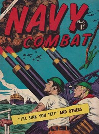 Navy Combat (Horwitz, 1958? series) #8 — I'll Sink You Yet!