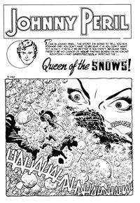 Queen of the Snows, Page 1—Superman Presents Wonder Comic Monthly (KG Murray, 1973 series) #110  ([June 1974])