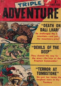 Triple Adventure (Approved, 1957 series)