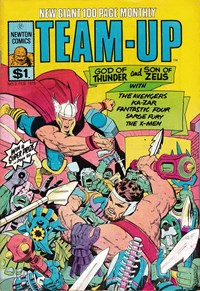 Team-Up (Newton, 1976 series) #2 ([February 1976?])
