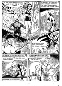 Action Comic (Peter Huston, 1946 series) #3 — Diana Queen of the Apes (page 3)