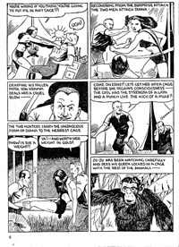 Action Comic (Peter Huston, 1946 series) #3 — Diana Queen of the Apes (page 6)