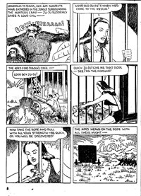 Action Comic (Peter Huston, 1946 series) #3 — Diana Queen of the Apes (page 8)