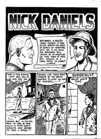 Action Comic (Peter Huston, 1946 series) #3 — Nick Daniels (page 1)