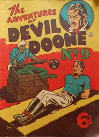 The Adventures of Devil Doone (Color Comics, 1950 series) #9